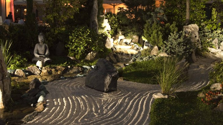allestire un giardino zen