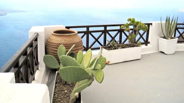 Fioriere per balconi Santorini