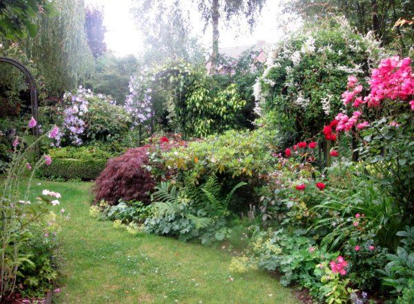 Il giardino quattro stagioni di Helena in Belgio