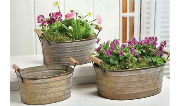I vasi da giardino per arredare con piante e fiori for Vasche da giardino in plastica