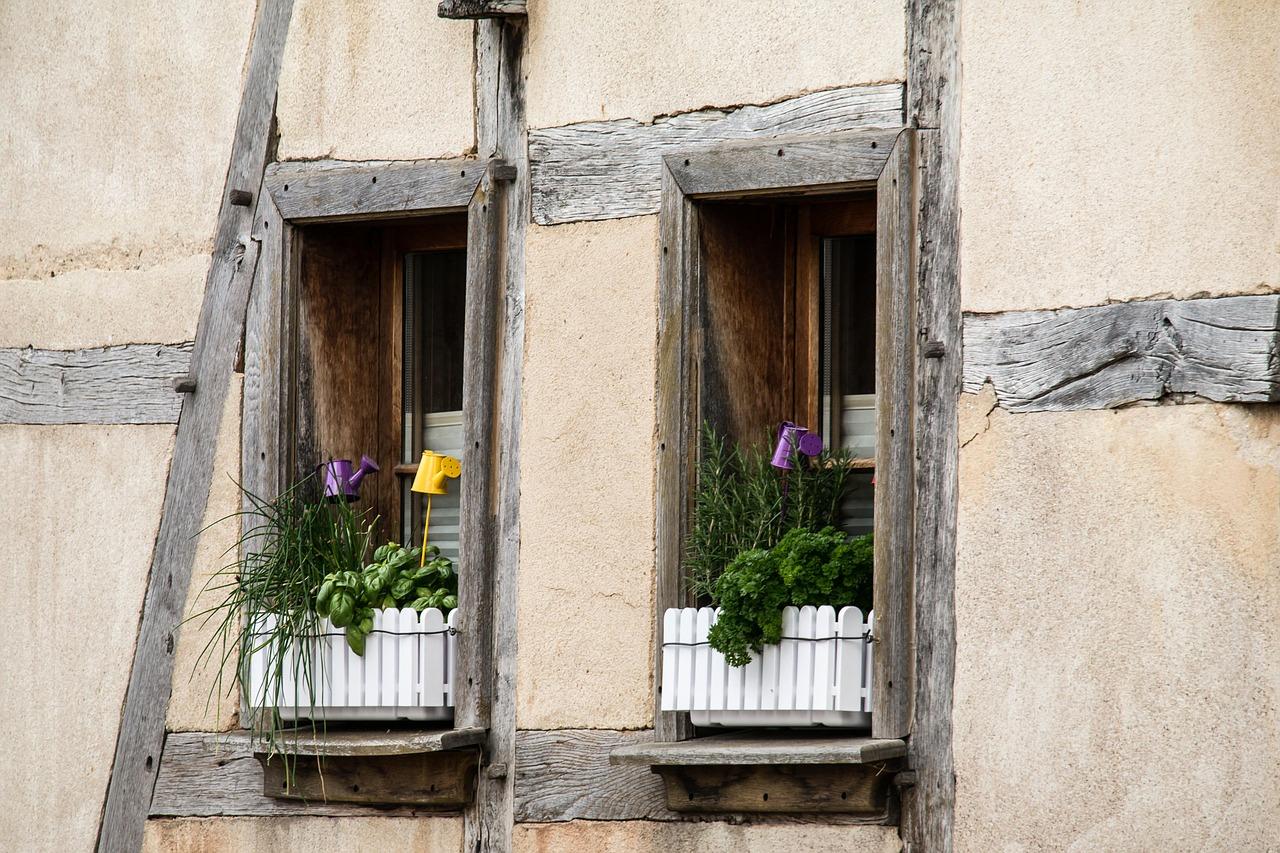 Fiorere da finestra for Scurini per finestre